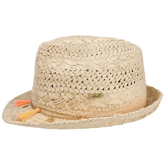 Cappello di Paglia Formosa Trilby Chillouts cappello estivo cappello da sole  Taglia unica - natura-blu  Amazon.it  Abbigliamento 0cdd944d434c