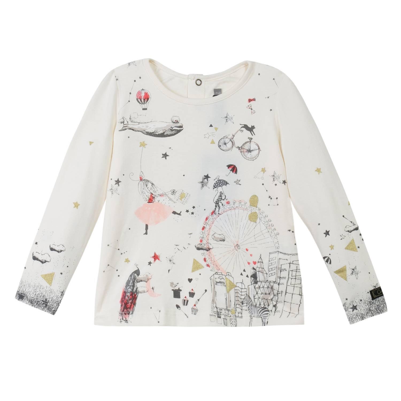 Catimini Mädchen T-Shirt Ci10153