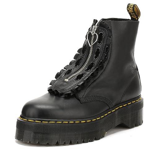e3da3e775a0e Dr. Martens Womens Lazy OAF Black Pisa Jungle Boots-UK 9  Amazon.co ...