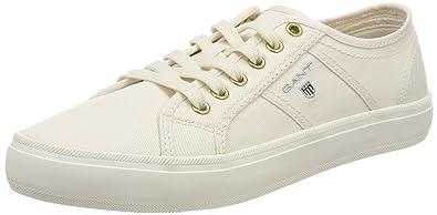 Footwear Damen Zoe Sneaker, Beige (Off White), 39 EU GANT