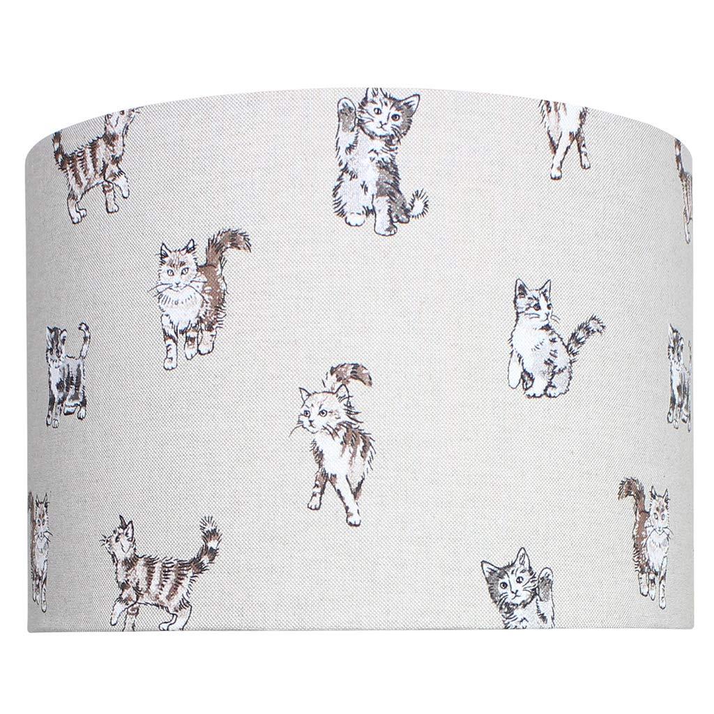 Cats Lampshade 30 cm Diameter x 21 cm High Ceiling Pendant