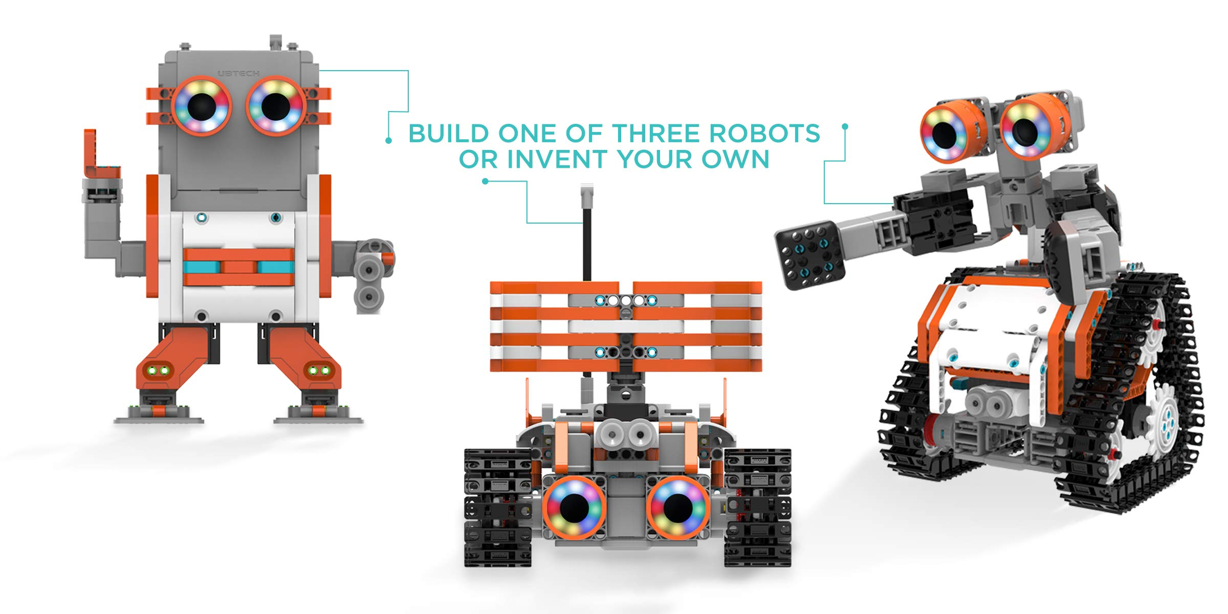 UBTECH JIMU Robot Astrobot Series: Cosmos Kit / App-Enabled Building and Coding STEM Learning Kit (387 Parts and Connectors) by UBTECH (Image #9)