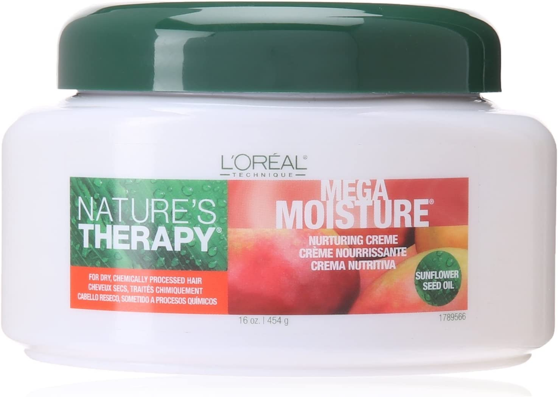 L'Oreal Nature's Therapy Mega Moisture Creme 16 oz. Jar (Pack of 8)