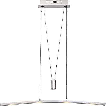 Luxus Decken Lampe LED Ess Tisch Hänge Leuchte Messing