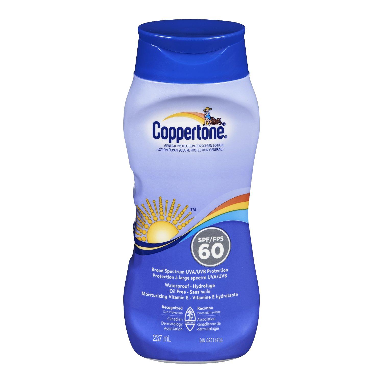 Coppertone Coppertone Sunscreen Lotion SPF60, 237ml