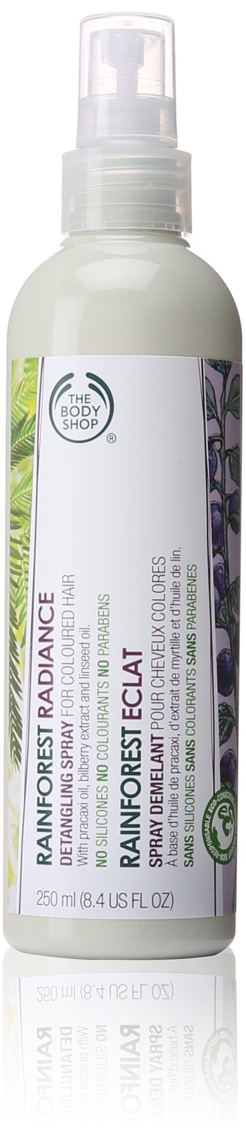 The Body Shop Rainforest Radiance Detangling Spray, 8.4 Fl Oz by The Body Shop