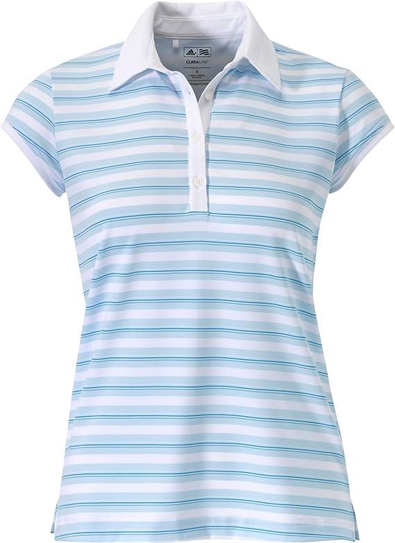 adidas Taylormade para Mujer Climalite Merchandising Polo a Rayas ...