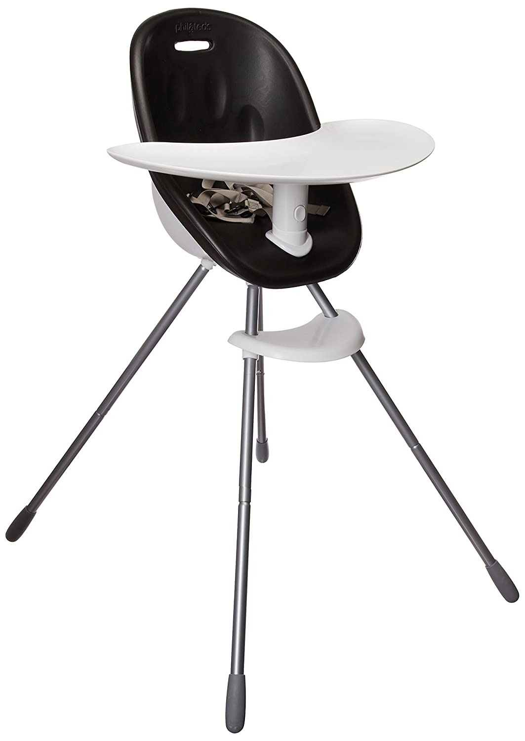 phil & teds Mountain Buggy Poppy High Chair, Black phil&teds poppy_v1_5
