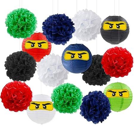Meuparty Decoraciones De Fiesta Ninja Suministros de Fiesta ...