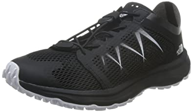 The North Face LITEWAVE FLOW LACE - Hiking shoes - black n94kB