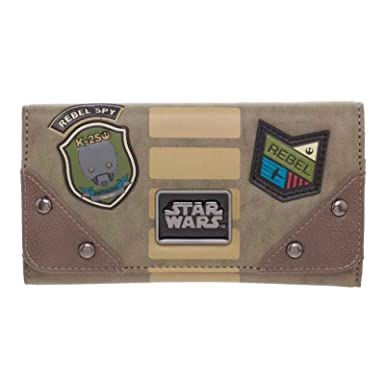 Star Wars billetera Rebel Patch Last Jedi oficial solapa ...