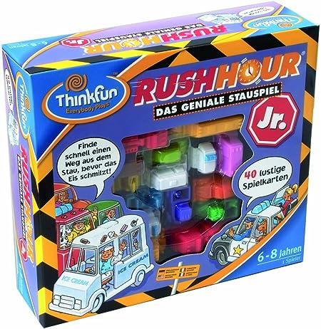 HCM Kinzel Thinkfun 55040 Rush Hour- Juego de lógica Espacial [Importado de Alemania]: Amazon.es: Juguetes y juegos