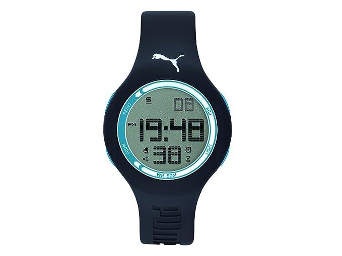 Puma reloj reloj de pulsera reloj de hombre digital silicona pu910801050 Drop One: Amazon.es: Relojes