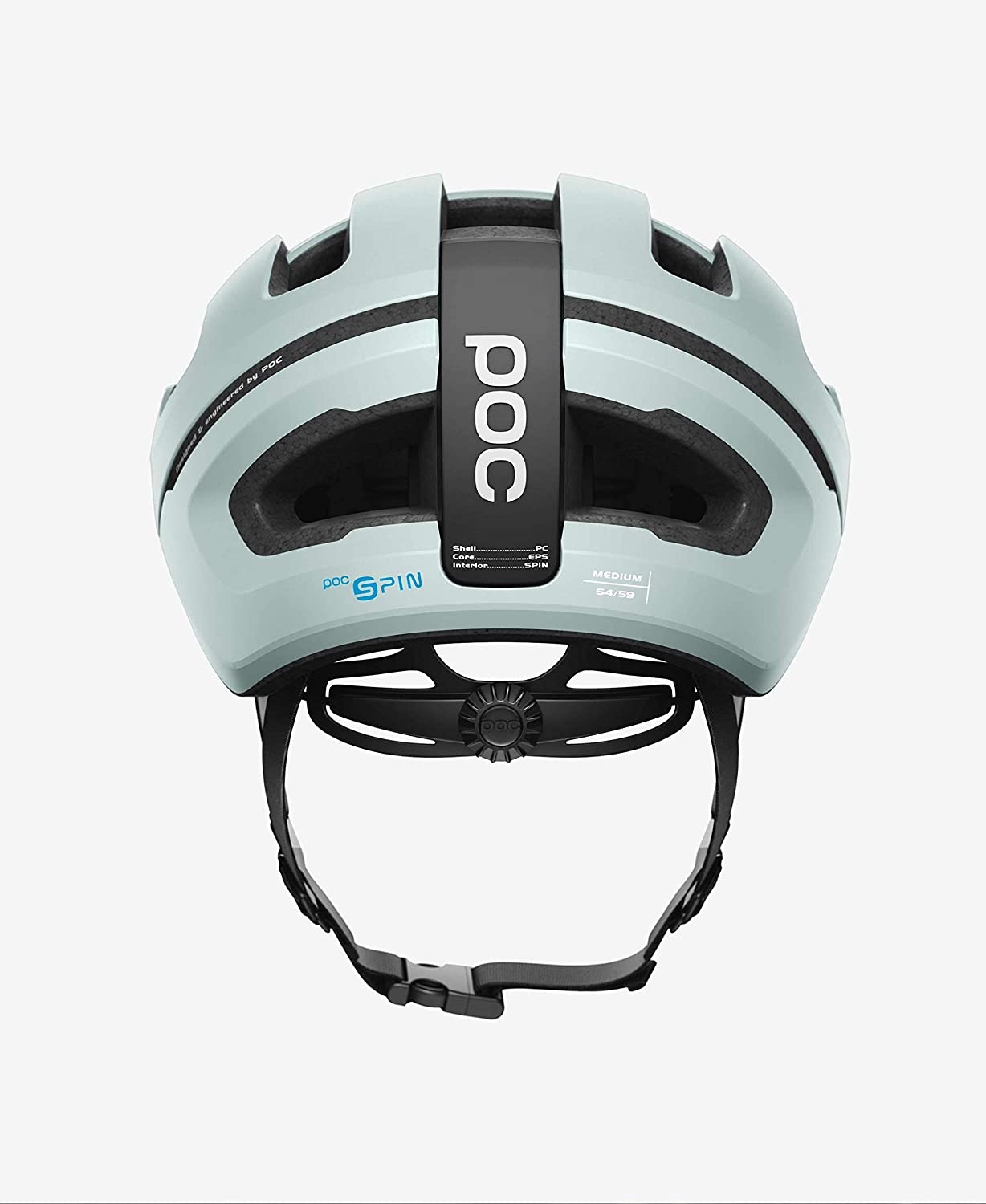 POC Cycling Omne Air SPIN Cycling Helmet Hydrogen White Size SML