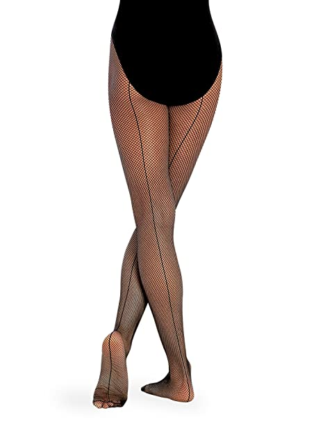 70cc578f9 Body Wrappers Seamed Fishnet Tights at Amazon Women s Clothing store