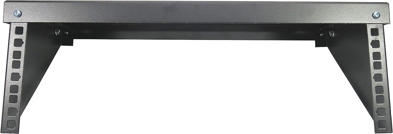 CNAweb 3U Folding 19-Inch Steel Wall Mountable Simple Vertical Rack and Server Rack