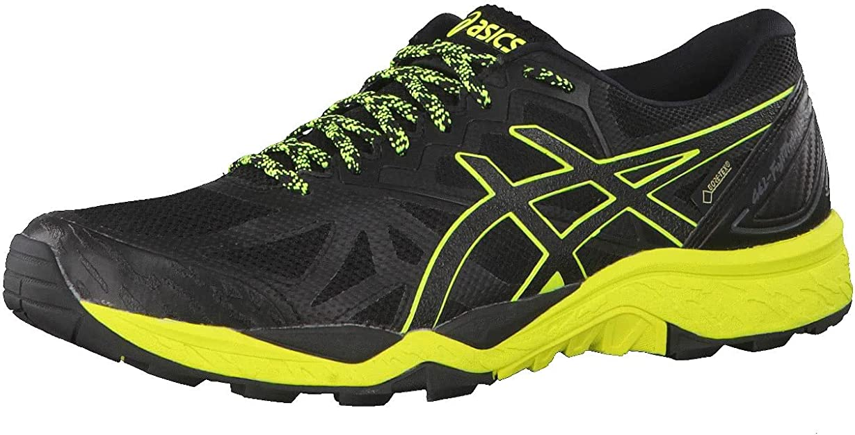 Asics Gel-Fujitrabuco 6 G-TX, Zapatillas de Running para Hombre, Negro (Blacksafety Yellowblack 9089), 40 EU: Amazon.es: Zapatos y complementos