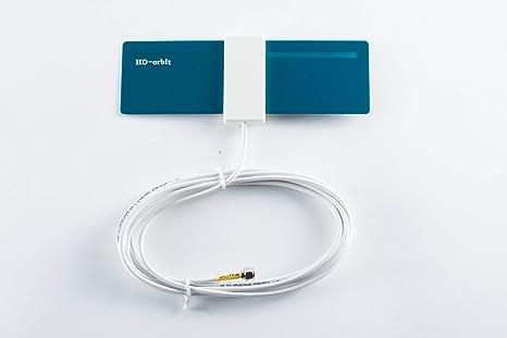 Amazon com: Spectrum Indoor HD TV DTV Antenna Orbit Home