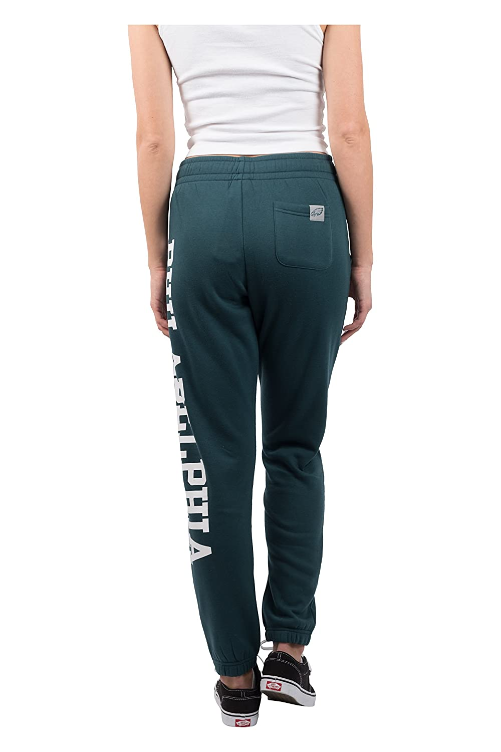 NFL Philadelphia Eagles Ultra Game Womens RELAXED FIT JOGGER Small Team Color