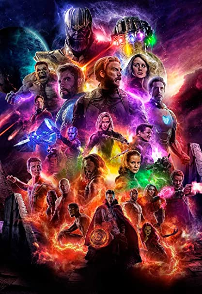 7a80a35c20e26 ZEMFO Best Avengers Movie Poster Collection Avengers 4 Endgame Posters  (Paper
