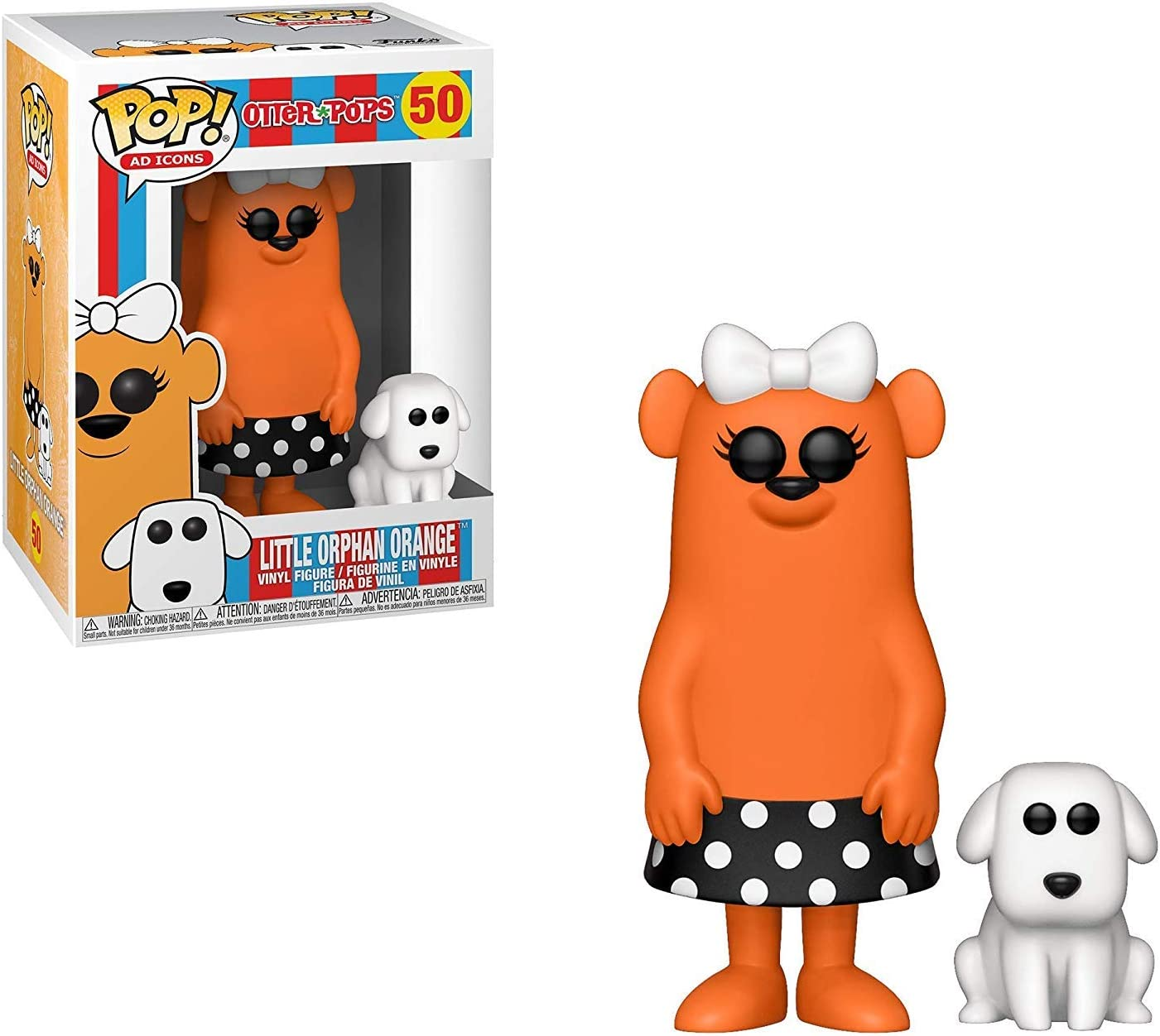 2019, Toy NUEVO Ponch Punch Ad Icons: Otter Pops Funko Pop