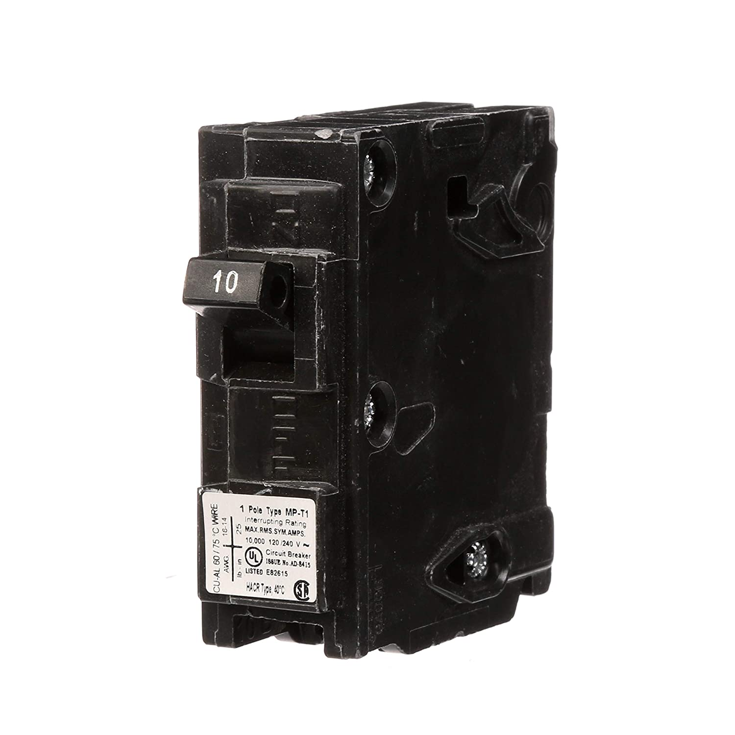 MP140 40-Amp Single Pole Type MP-T Circuit Breaker