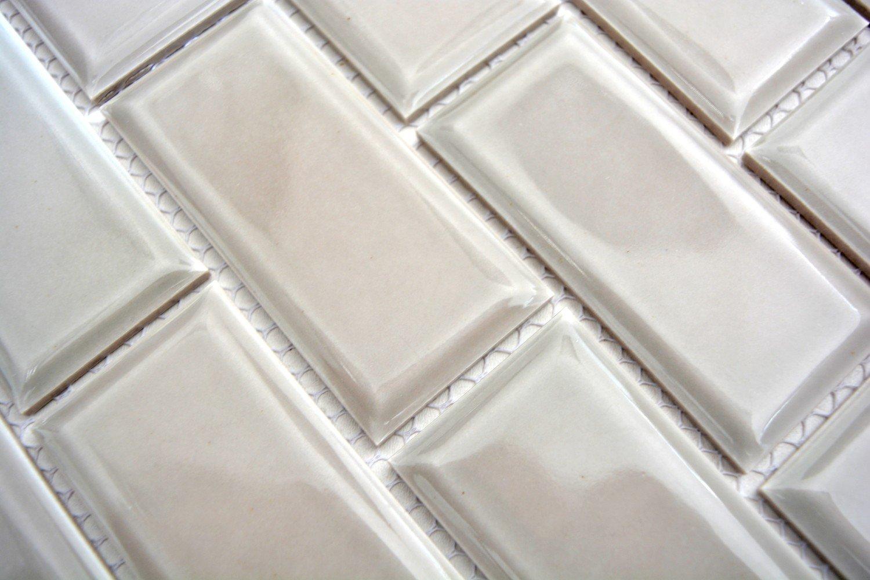 Metro Subway Mosaik Fliese Keramik grau steingrau f/ür WAND BAD WC DUSCHE K/ÜCHE FLIESENSPIEGEL THEKENVERKLEIDUNG BADEWANNENVERKLEIDUNG WB26M-0202