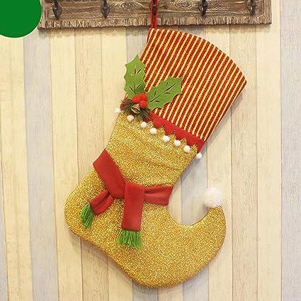 womhope 33 large 3d christmas stockings gift candy stockings santas toys stockings decorative hanging christmas
