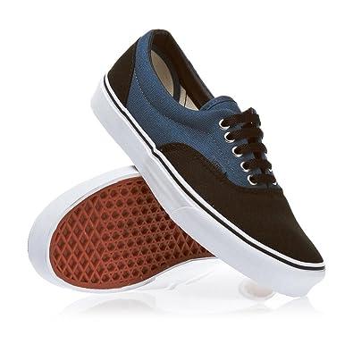 87326424be77ad Vans Era 2 Tone Schuh Schwarz Stahlblau 44.5  Amazon.de  Schuhe ...