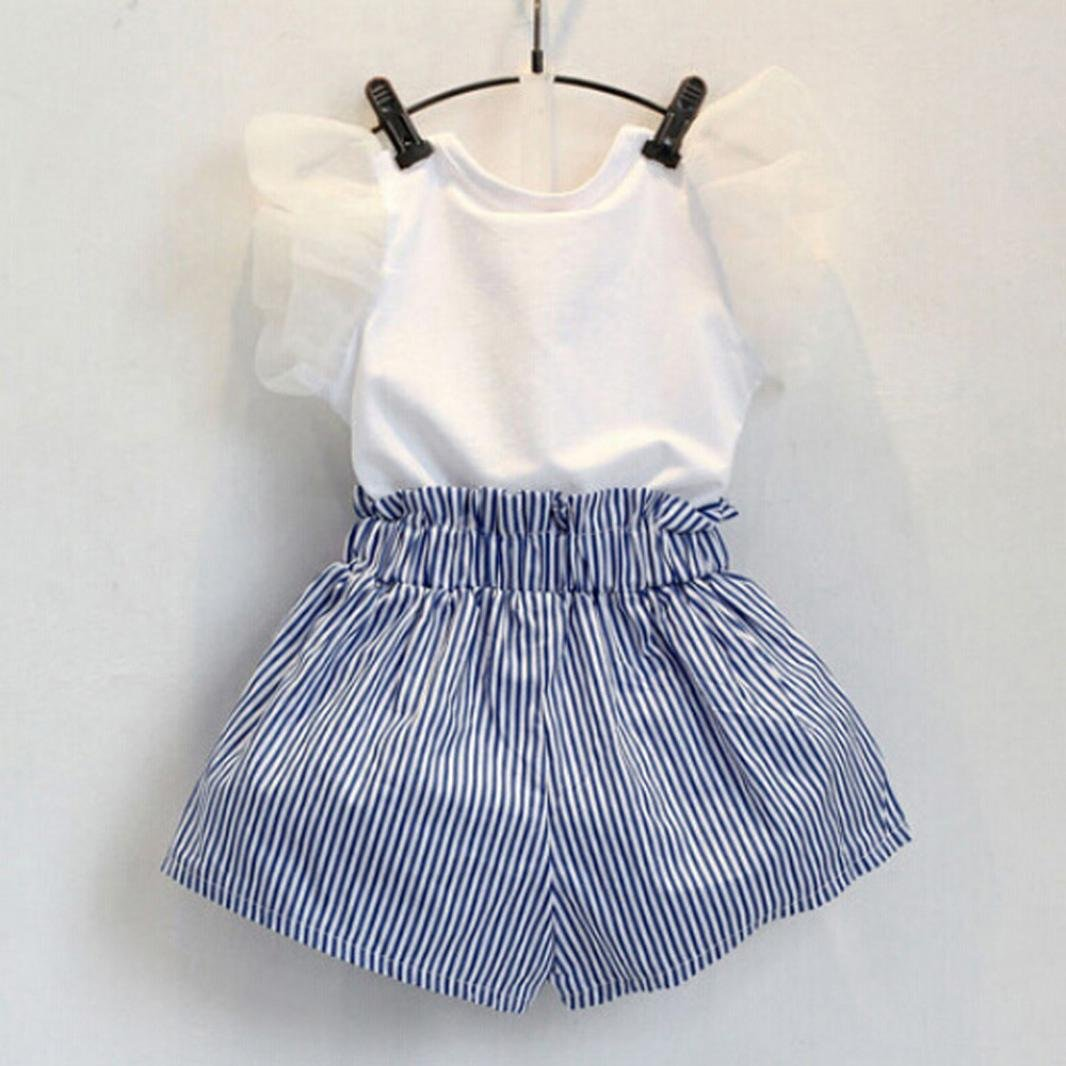 e0e2357637514 Viahwyt Girls Clothing Sets,2018 Latest fashion, Toddler Kids ...