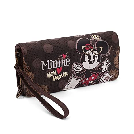 Karactermania Minnie Mouse Mon Amour Monedero, 20 cm, Marrón