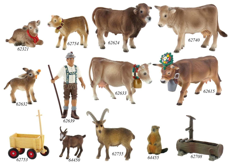 Bullyland Alp Cow Darina Action Figure
