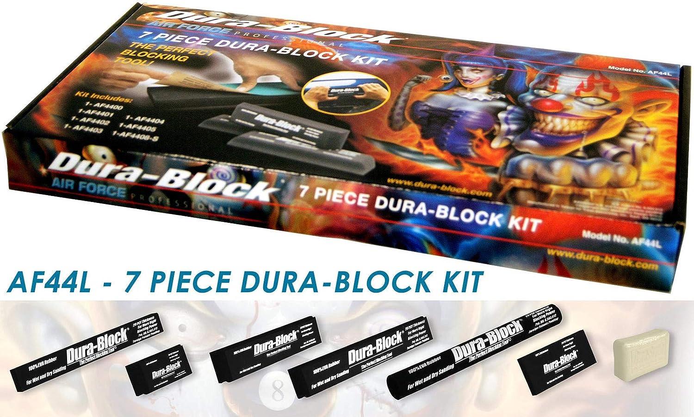Trade Associates AF44L 7 Piece Dura Block Sanding Kit by Trade Associates