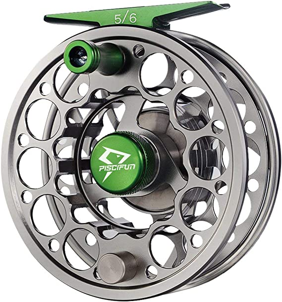 Piscifun Sword Fly Fishing Reel with CNC-machined Aluminum Alloy Body 3/4