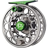 Piscifun Sword Fly Fishing Reel with CNC-machined Aluminum Alloy Body 3/4, 5/6, 7/8, 9/10 Weights(Black, Gunmetal, Pink…
