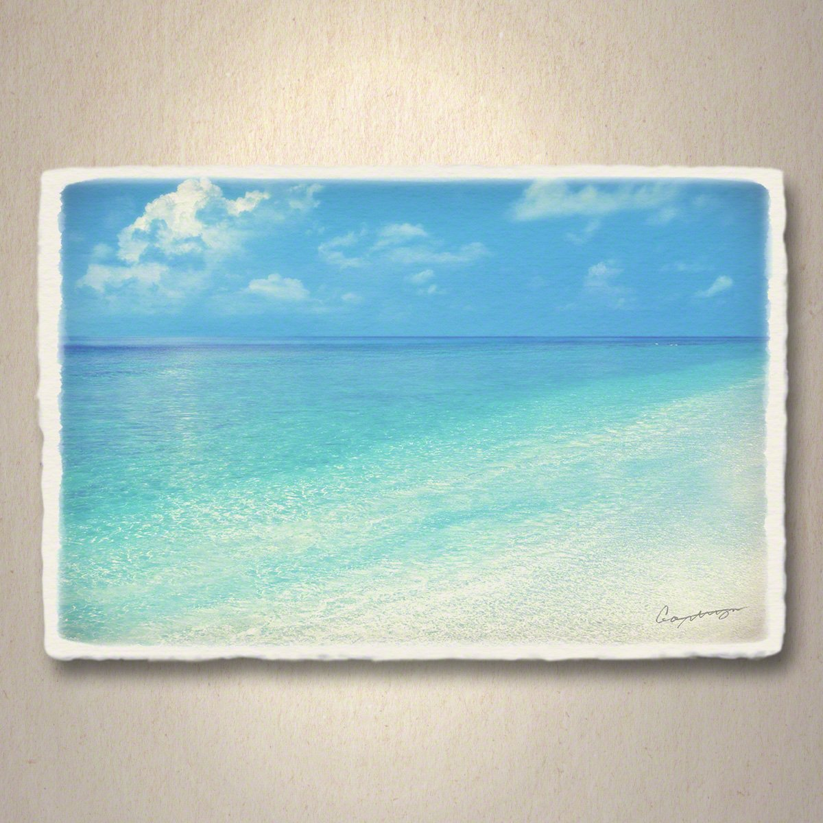 和紙 ポストカード 「珊瑚礁の波打際」 海 絵 絵画 壁掛け 壁飾り インテリア アート B074ZLRV56 01.ポストカード 300円|珊瑚礁の波打際 珊瑚礁の波打際 01.ポストカード 300円