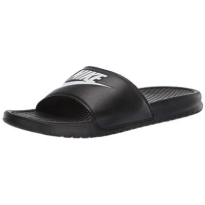 Nike Benassi JDI Men's Sandals Black/White 343880-090 (9 D(M) US) | Sport Sandals & Slides