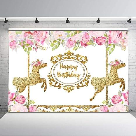 Consumer Electronics 2019 Fashion Mehofoto Vinyl Photographic Background Birthday Unicorn Party Dessert Table Kids Decro Children Backdrop Banner Photo Studio Photo Studio