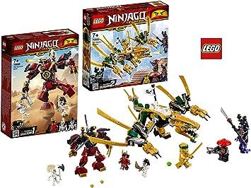 LEGO ® Ninjago ® 70666 dragon doré