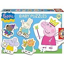 Educaborras Puzzle Baby Peppa de 3,4 y 5 Piezas Puzzle Infantil ...