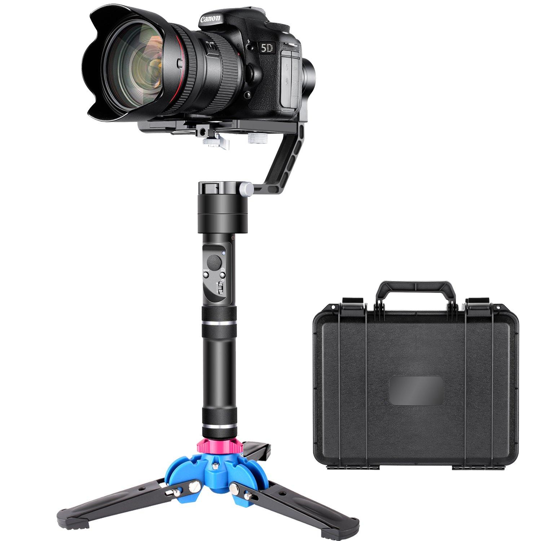 Neewer Crane V2 3軸ブラシレス手持ちジンバルスタビライザーキット 32ビットMCUsブラシレスモータ 三脚スタンドベース付 デジタル一眼レフとSony A7/A7II Fujifilm Panasonic Nikon J Canon M シリーズのミラーレスカメラに対応 キットⅠ  B075YCNM8B