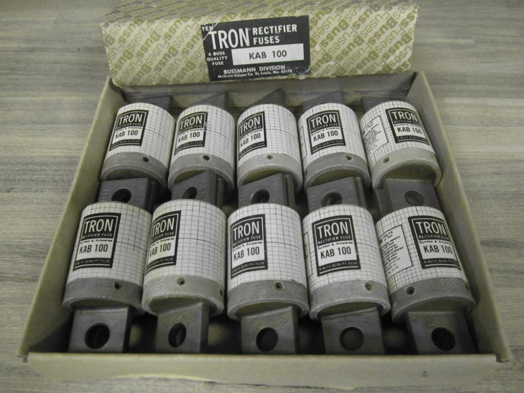 Bussmann KAB 100 Amp Tron Rectifier Fuse (Pack of 10