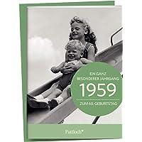 1959 - Ein ganz besonderer Jahrgang - Zum 60. Geburtstag: Jahrgangs-Heftchen mit Kuvert