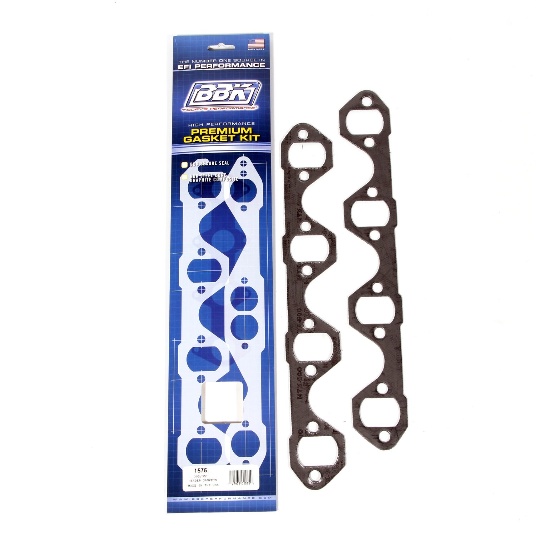 BBK 1575 1-5/8' Premium Exhaust Header Gaskets Kit for Ford 302/351, (Pair) BBK Performance Parts