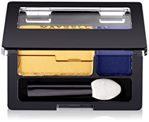 Maybelline New York Expert Wear Eyeshadow, Golden Star, Duos, 0.08 Ounce, 1 Count