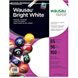 Neenah Bright White Premium Cardstock, 96 Brightness, 65 lb., 8.5x11 inches, 100-Sheets (91901) 2-Pack