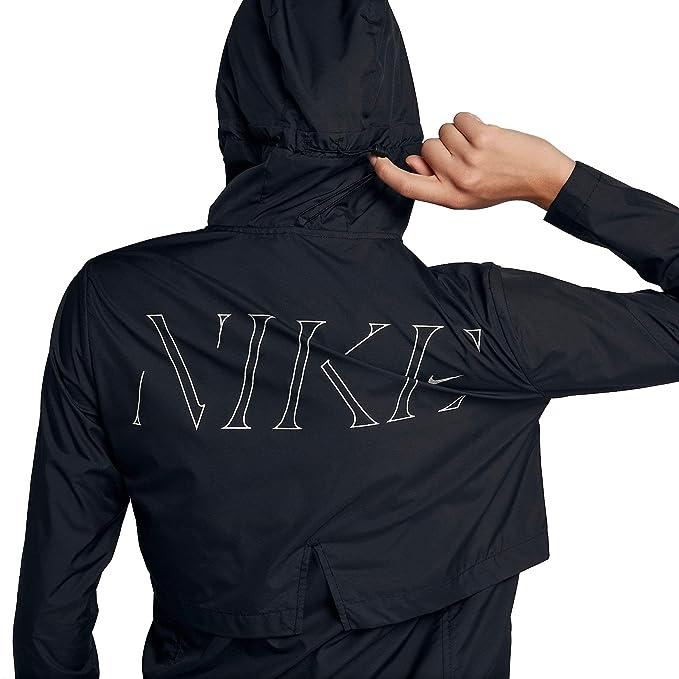 Amazon.com: W NK ESSNTL JKT HD FL - Chaqueta con capucha ...