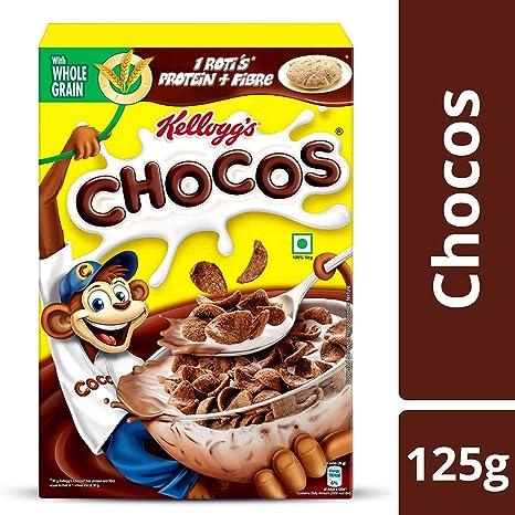 Kellogg's Chocos Chocolate Flavour, 125g