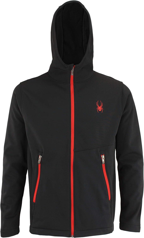 Spyder Men's Transform Hooded Soft Shell Jacket, Color Variation: Clothing