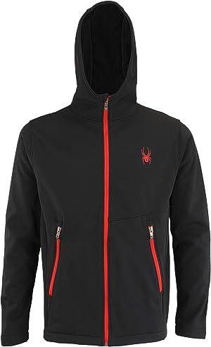 Spyder Men's Transform Hooded Soft Shell Jacket, Color Variation